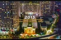 Hình ảnh có thể có: văn bản cho biết '2013 VINHOMES ROYAL CITY'